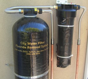 Whole House Fluoride Removal City Water Filter Corp